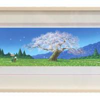 【ジークレー版画/小サイズ】「日本の四季の輝き 〜春〜」