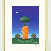 【ジークレー版画/四つ切サイズ】「スタークリスマス」