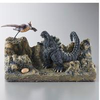 『ゴジラvsメカゴジラ』ジオラマセット ~ゴジラ対ラドン アドノア島の戦い~