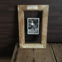 Like a wooden frame