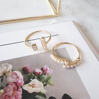 pearl design ring