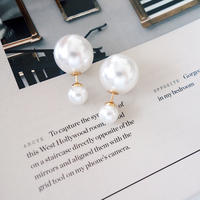 double pearl pierce