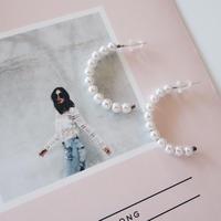 pearl beads pierce