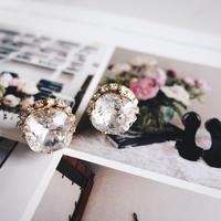 square bijou pierce,earring