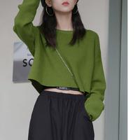 【D002】 プチプラ   ニット  セーター 4色