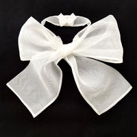 つけ襟 LITTLE RIBBON(white)