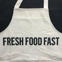 "DRESSSEN  XA10 X–STYLE APRON "" FRESH FOOD FAST""※公式オンラインストアのみの販売です。"