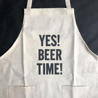 DRESSSEN   WPA6  DAY USE W POCKET  APRON   YES! BEER TIME! ※正面に二つのポケットがございます