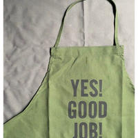 "DRESSSEN DR(GRN)2 ""YES! GOOD JOB!""APRON"