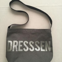 "DRESSSEN  SHOULDER BAG DBC2 ""DRESSSEN"" BLACK COLOR"