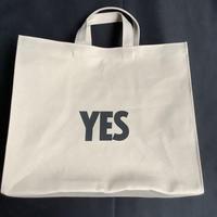 """🔴新発売DRESSSEN  MARKET BAG [◉LARGE]  MBSBL10  """"YES/NO THANK YOU※NOには➖線があります。(サンドベージュカラー)"""