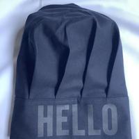 """⭐️新発売 DRESSSEN  CCDN2 CHEF'S CAP  """"HELLO""""(ダークネイビーカラー)"""