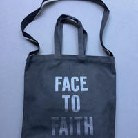 """DRESSSEN  TWO WAY BAG DBSHC7 """"FACE TO FAITH"""" """"BLACK COLOR  ※公式オンラインストア限定販売です。"""
