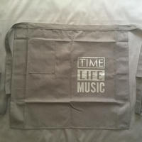 "[新色]DRESSSEN  lower wall long LWLB5 "" TIME LIFE MUSIC""APRON BLACK COLOR"