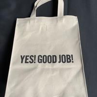 """DRESSSEN MBASBS13 MARKET BAG   (SMALL)   """"YES!GOOD JOB!/ DRESSSEN(サンドベージュカラー)"""