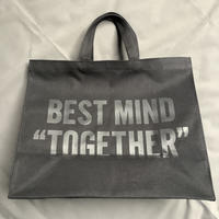 "DRESSSEN  MARKET BAG (LARGE)  MBALBK3 ""BEST MIND TOGETHER""※BLACK COLOR"
