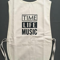 "DRESSSEN  F&B APRON FB4  ""TIME LIFE MUSIC"""