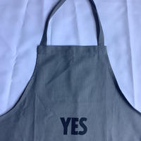 "DRESSSEN  DRVGRY1 REVERSIBLE  APRON""YES /NO THANKYOU(リバーシブルエプロン)※次回入荷は未定です。"
