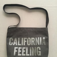 "DRESSSEN  SHOULDER BAG DBC8 ""CALIFORNIA FEELING""BLACK COLOR"