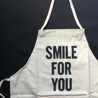 "DRESSSEN KD 16 KIDS APRON ""SMILE FOR YOU""※キッズエプロンです。"
