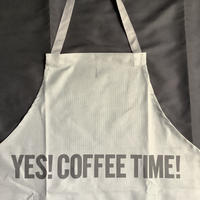 "DRESSSEN  DRVGRY4 REVERSIBLE  APRON""YES!COFFEE TIME!/YES!BEER TIME! ""(リバーシブル)"