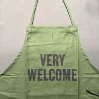 """⭐️[新発売]DRESSSEN DR(GRN)8 """"VERY WELCOME""""APRON GREEN  COLOR"""