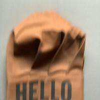 "DRESSSEN CCB2 CHEF'S CAP   ""HELLO""(ブラウンカラー)"