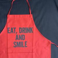 🔴公式オンラインストア限定販売!] DRESSSEN DR(RED)14 EAT,DRINK  AND SMILE