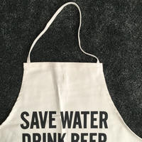 DRESSSEN #58  ADULT APRON SAVE WATER DRINK BEER