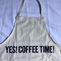 """🔴新型エプロン DRESSSEN  DRV5 REVERSIBLE  APRON""""YES!COFFEE TIME!/YES!BEER TIME!(リバーシブルエプロン)⭐️再入荷しました。"""