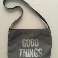 "DRESSSEN  SHOULDER BAG DBC4 ""GOOD THINGS "" BLACK COLOR"