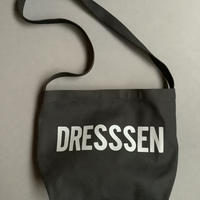"DRESSSEN NDB3  NEW DB SHOULDER BAG  "" DRESSSEN""  BLACK COLOR"