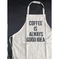 """⭕️[新型エプロン] DRESSSEN   WPASB5 DAY USE W POCKET     """"COFFEE IS ALWAYS GOOD   IDEA""""※こちらの色はサンドベージュです"""