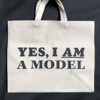 "DRESSSEN  MARKET BAG (LARGE)  MBAL6  ""YES I AM A MODEL"""