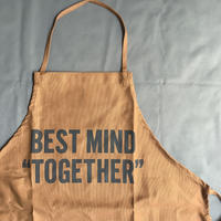"DRESSSEN    DR(BRN)10 ""BEST MIND TOGETHER "" APRON"