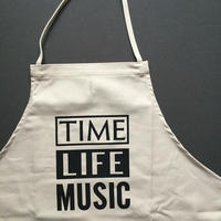 DRESSSEN ADULT APRON  #68 TIME LIFE MUSIC