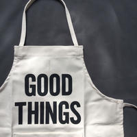 "👶DRESSSEN BKD3  BABY KIDS APRON  ""GOOD THINGS""(ベイビーキッズエプロンです。)"