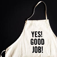 "DRESSSEN ADULT APRON #21 ""YES! GOOD JOB!""⭐️再入荷しました。"