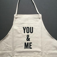 DRESSSEN ADULT APRON  #78 YOU & ME