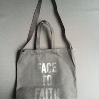"DRESSSEN  TWO WAY BAG DBSHC7 ""FACE TO FAITH"" ""BLACK COLOR  ※公式オンラインストア限定販売です。"