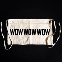 "DRESSSEN  LW16 LOWER WALL APRON  ""WOWWOWWOW""(腰巻きエプロン)"