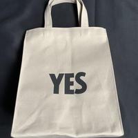 """🔴新発売DRESSSEN  MBASBS11  MARKET BAG   (SMALL)   """"YES/NO THANK YOU※NOには➖線があります (サンドベージュカラー)"""