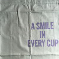 "DRESSSEN  lower wall long LWL(G)5""SMILE IN EVERY CUP""APRON GREENCOLOR ⭕️こちらの商品はオンラインストア限定発売です"