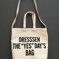 "DRESSSEN  DBSH4  TWO WAY BAG"" DRESSSEN THE""YES""DAYS BAG"