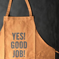 "DRESSSEN  WPAB2   DAY USE W POCKET  APRON   ""YES! GOOD   JOB!※正面に二つのポケット"