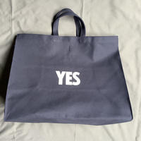 "DRESSSEN    MBXL N1 MARKET  BAG  XLARGE ""YES/NO THANKYOU(dark  navy color)"