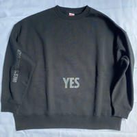 "新発売! DSS2 DRES""SPECIAL""SSEN  SWEAT  SHIRTS  YES/NO THANKYOU(BLACK ロゴ)🟤次回の入荷は未定です。"