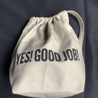 "🔴新発売 SMDSB3 DRESSSEN SMALL DAY BAG ""YES!GOOD JOB!/ DRESSSEN""    SAND BEIGE"" COLOR"