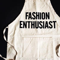 "DRESSSEN KD13 KIDS APRON   ""FASHION ENTHUSIAST""(※キッズエプロンです)"