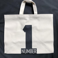 "⭕️新発売 DRESSSEN  MARKET BAG (LARGE)  MBAL7 ""NUMBER ONE"""